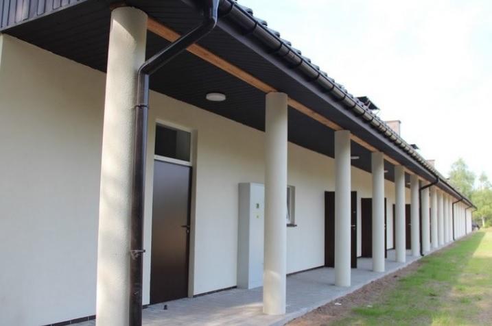 Nowe budynek socjalny