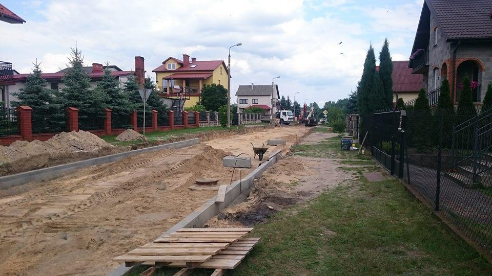 Rozpoczęła się budowa ulicy Spacerowej