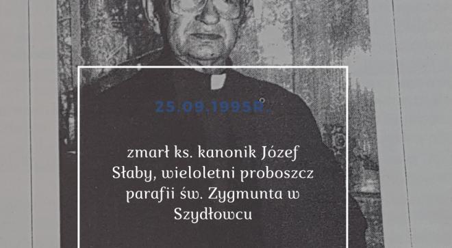 Wspominamy ks. Józefa Słabego w jego rocznicę śmierci