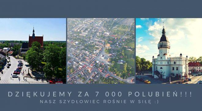 7 tysięcy fanów portalu Nasz Szydłowiec na facebooku!
