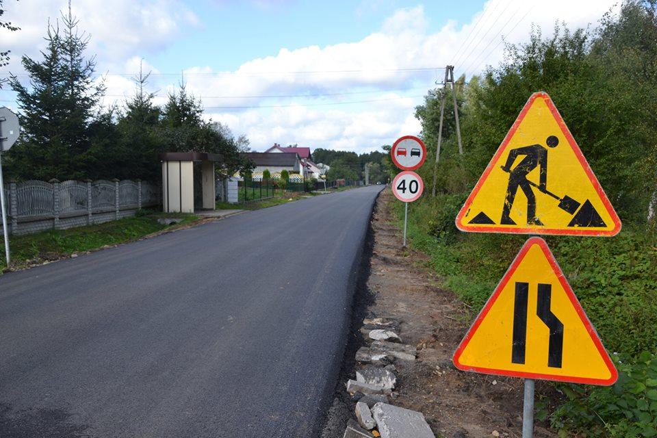 Nowa droga i sieć wodociągowa – inwestycje