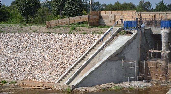 Modernizacja jazu i zapory wodnej nad zalewem