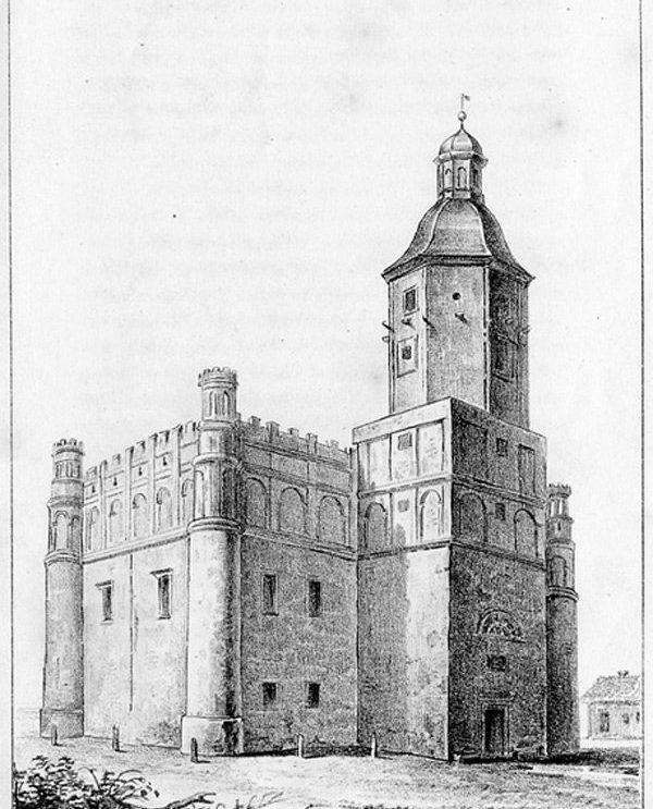 Miasto Szydłowiec, jego kościoły, ratusz i zamek. Z pamiętników Józefa Gluzińskiego