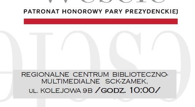 """Narodowe czytanie """"Wesela"""" również w Szydłowcu!"""
