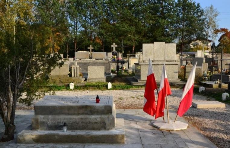 Cmentarz żołnierzy I Wojny Światowej po renowacji