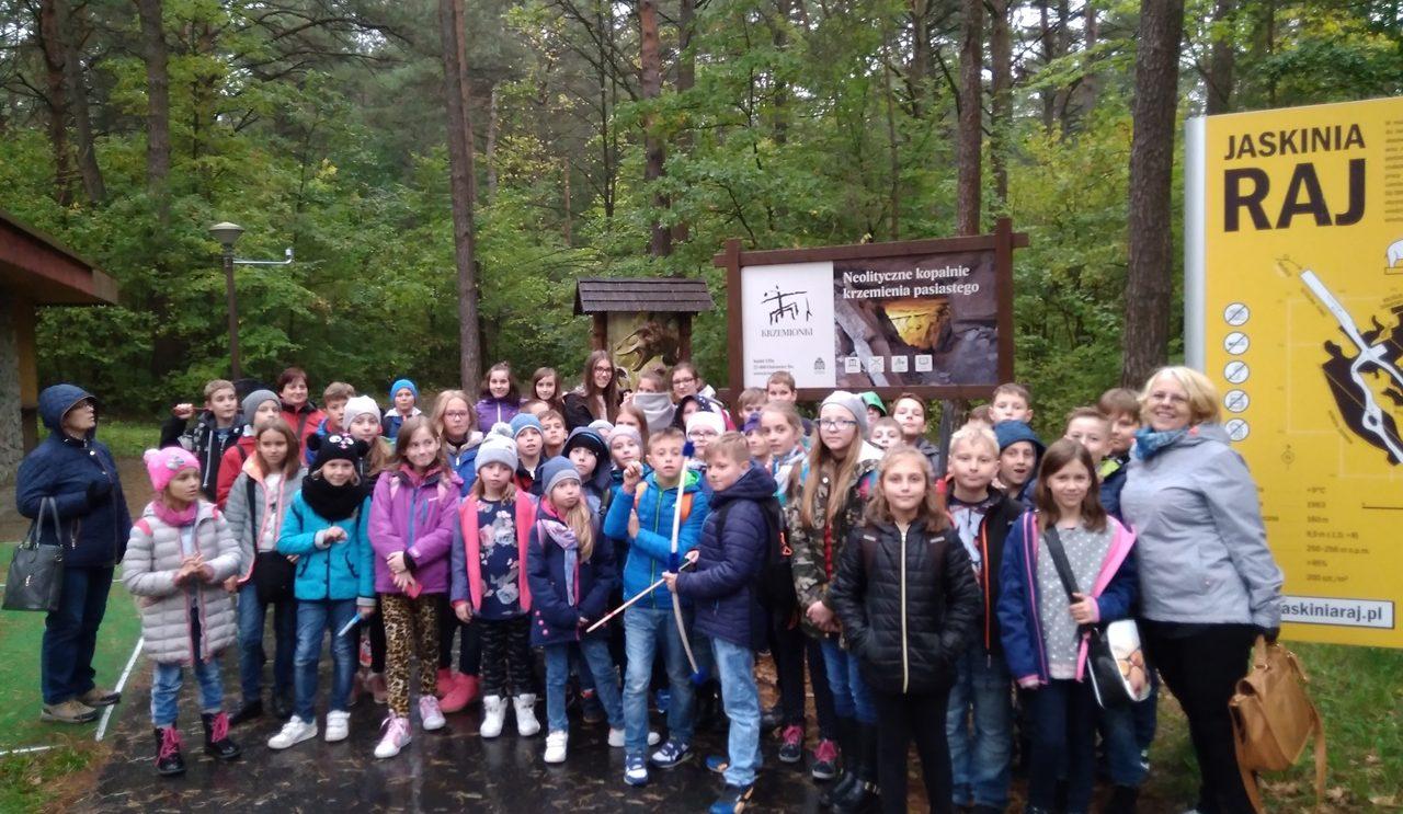 Dzieciaki w Energetycznym Centrum Nauki w Kielcach