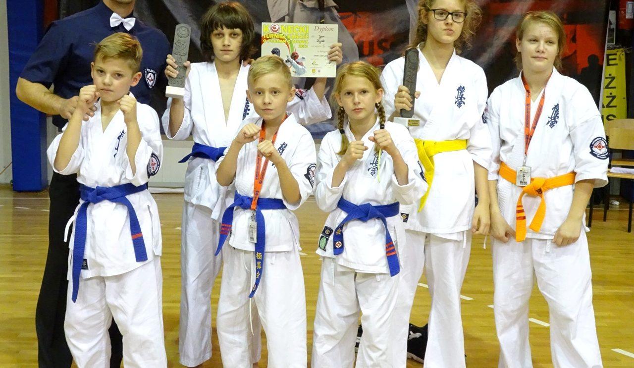 Konecki Turniej Karate o Puchar z Żeliwa