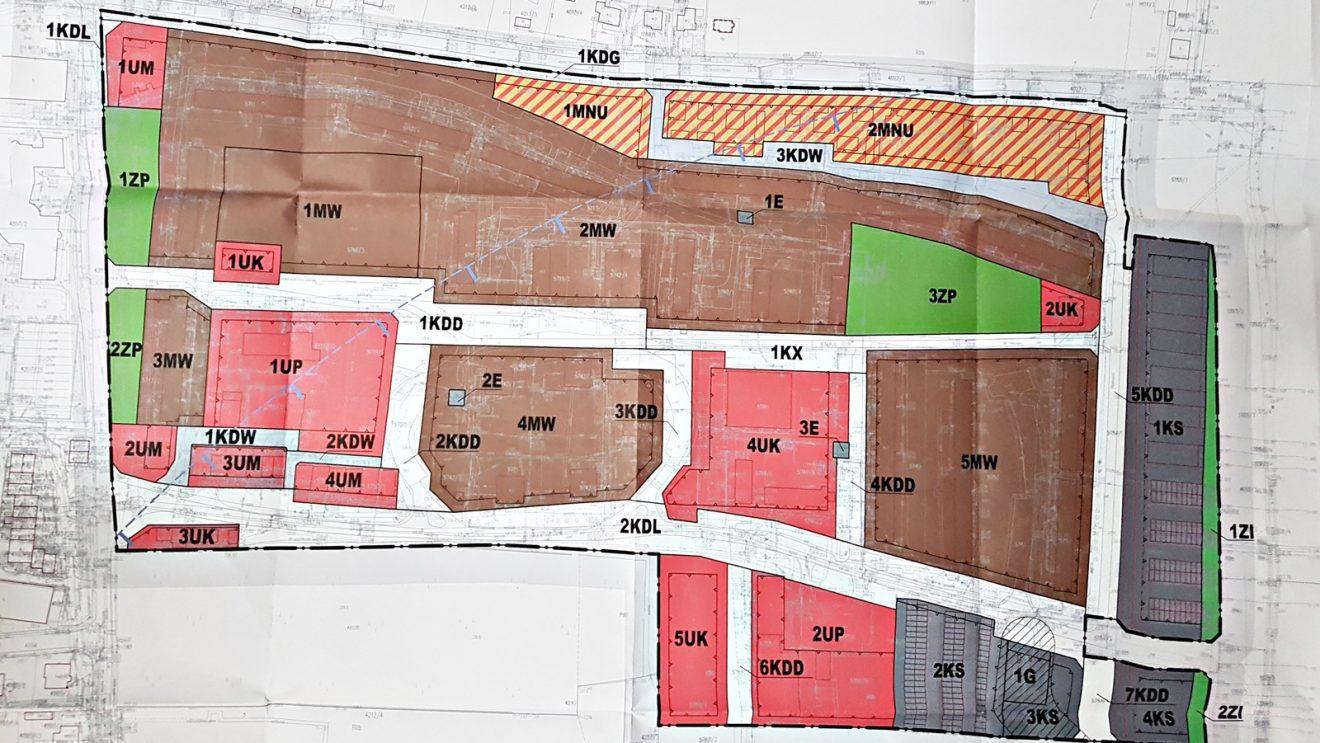"""Projekt planu zagospodarowania przestrzennego osiedla """"Wschód"""" wyłożony do publicznego wglądu"""