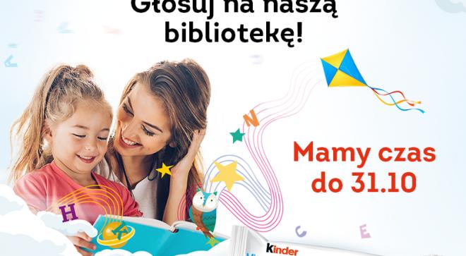 Pomóżmy szydłowieckiej bibliotece wygrać konkurs!