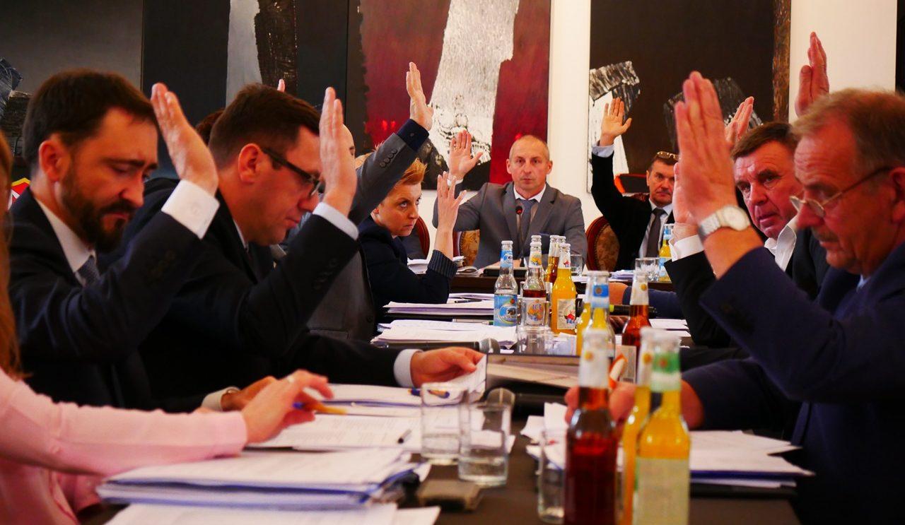 Porządek obrad sesji rady miejskiej