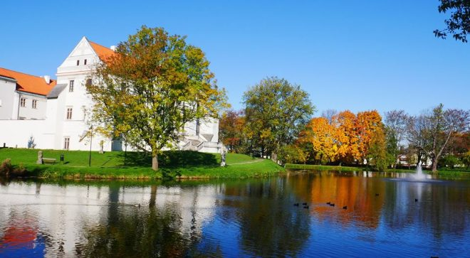 Jesienny spacer po Szydłowcu