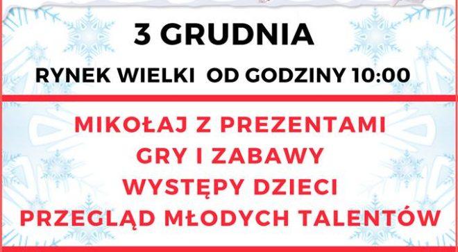 """""""Mikołajki"""" w Szydłowcu już w niedzielę!"""