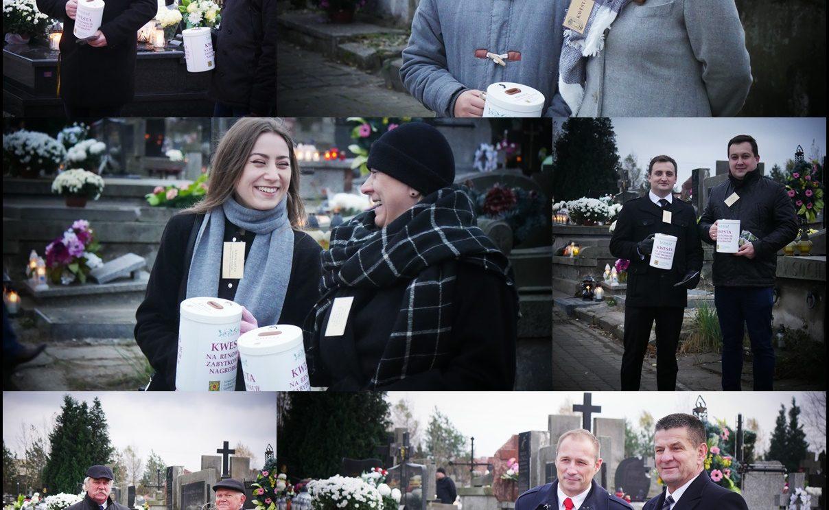 Rekordowa zbiórka na szydłowieckim cmentarzu!