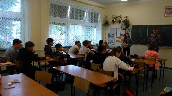 Kolejne spotkania z cyklu promowania Liceum im. Henryka Sienkiewicza w Szydłowcu