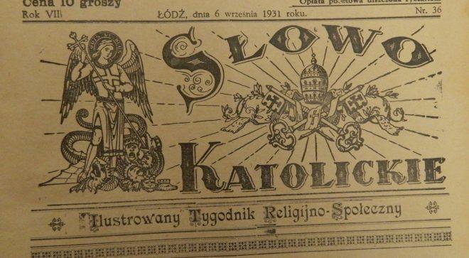 """""""Handel w mieście Szydłowcu"""" – Słowo Katolickie 1931 rok."""