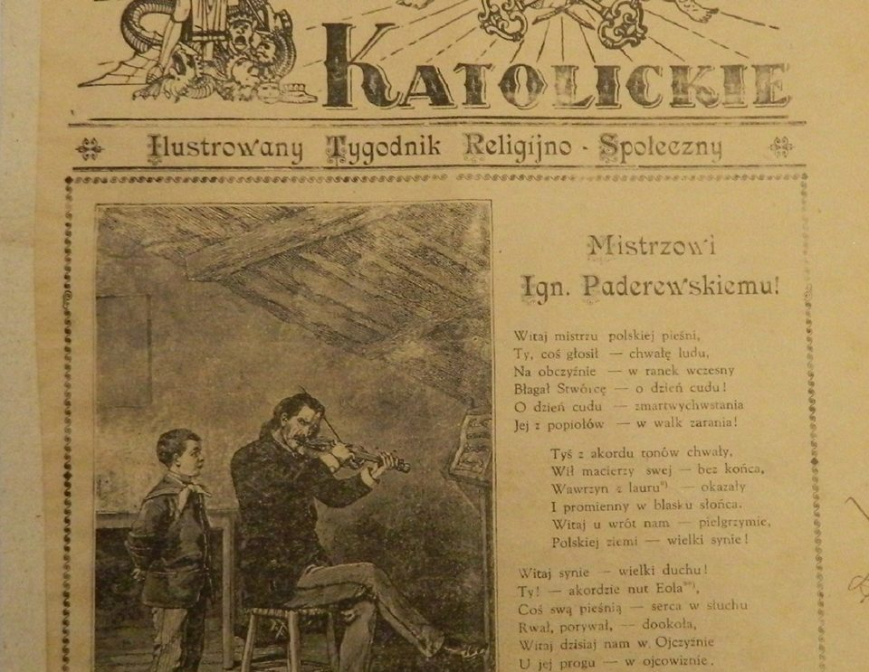 """""""Słówko z Szydłowca"""" – Słowo Katolickie 1931 rok"""