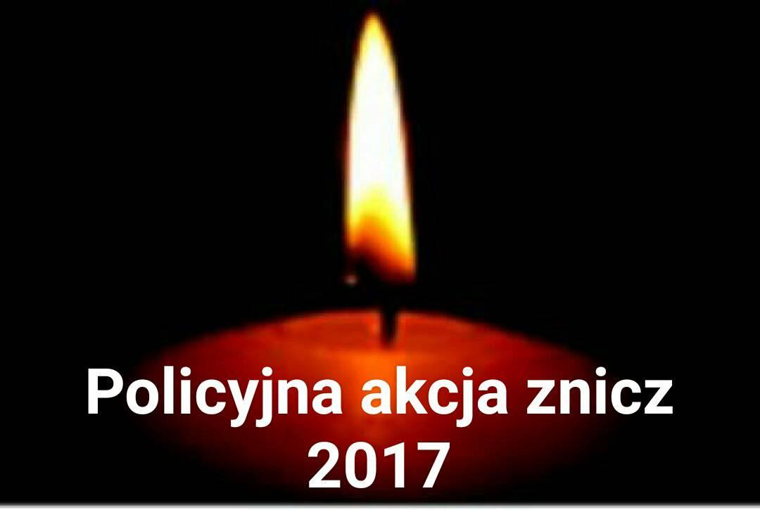 """Podsumowanie policyjnej akcji """"Znicz 2017"""""""
