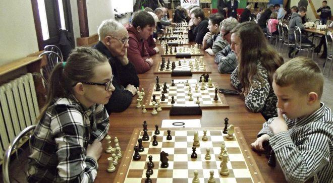 Nasi szachiści w Bliżynie