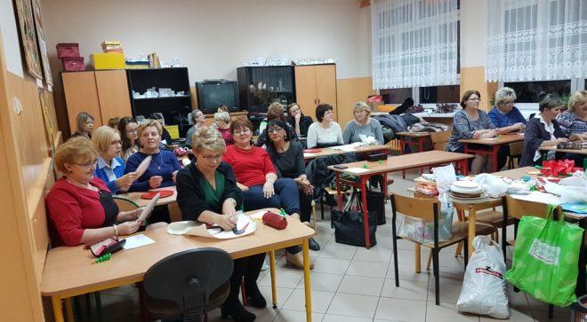 """Warsztaty plastyczno – techniczne w """" Sobieskim"""""""