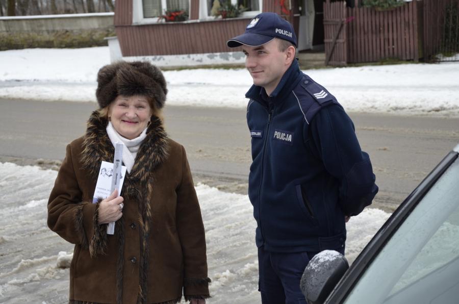 Dzień Babci i Dziadka z szydłowiecką policją