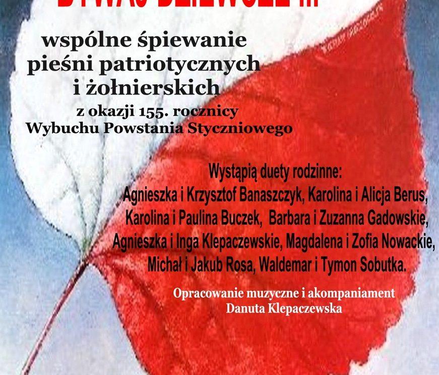 """""""Bywaj dziewcze"""". Koncert piosenki patriotycznej i żołnierskiej."""