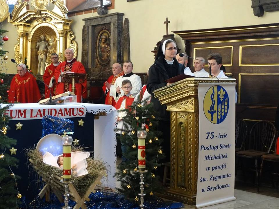 75 – lat sióstr Michalitek w parafii św. Zygmunta