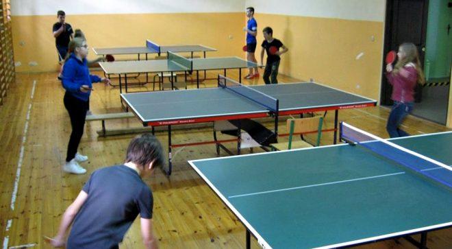 XIV Mistrzostwa Sadku w tenisie stołowym