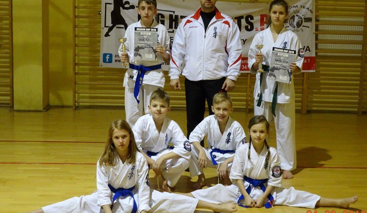 Udany start szydłowieckich karateków