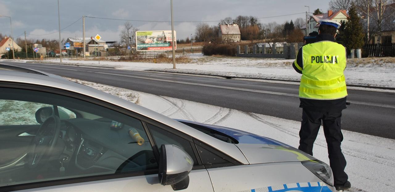 Kaskadowy pomiar prędkości na drogach powiatu szydłowieckiego