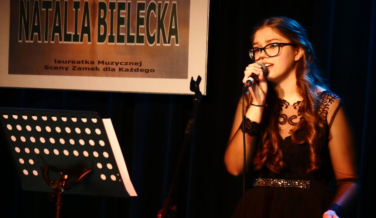 Natalia Bielecka zaczarowała szydłowiecką publiczność