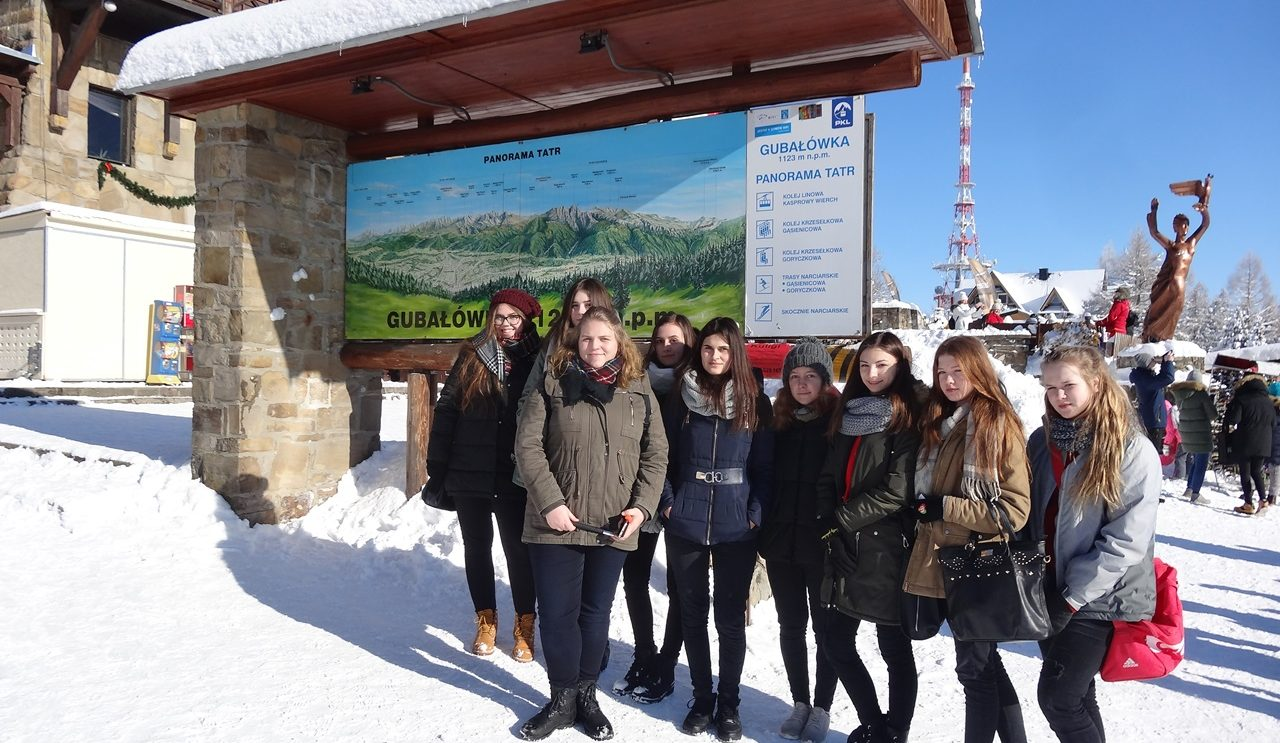 Uczniowie z PSP nr 2 w Zakopanem