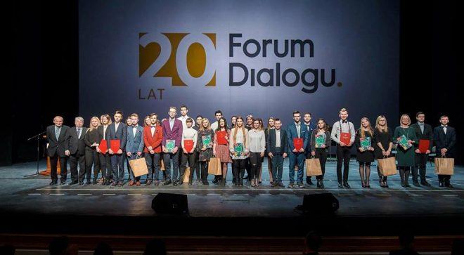 20 – lecie Forum Dialogu z udziałem szydłowieckiej młodzieży