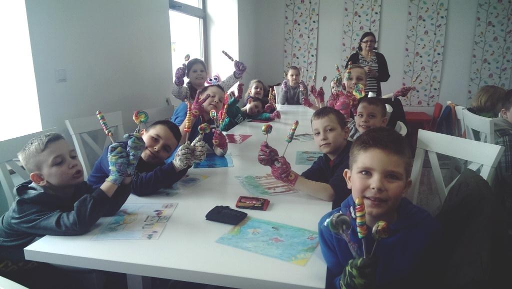"""Wycieczka do Manufaktury Słodkości """"Słodka Robotka"""" w Radomiu"""
