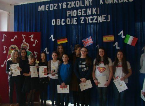 Międzyszkolny Konkurs Piosenki Obcojęzycznej