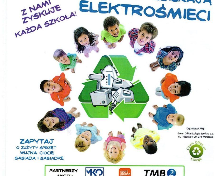 Wszystkie dzieci zbierają elektrośmieci