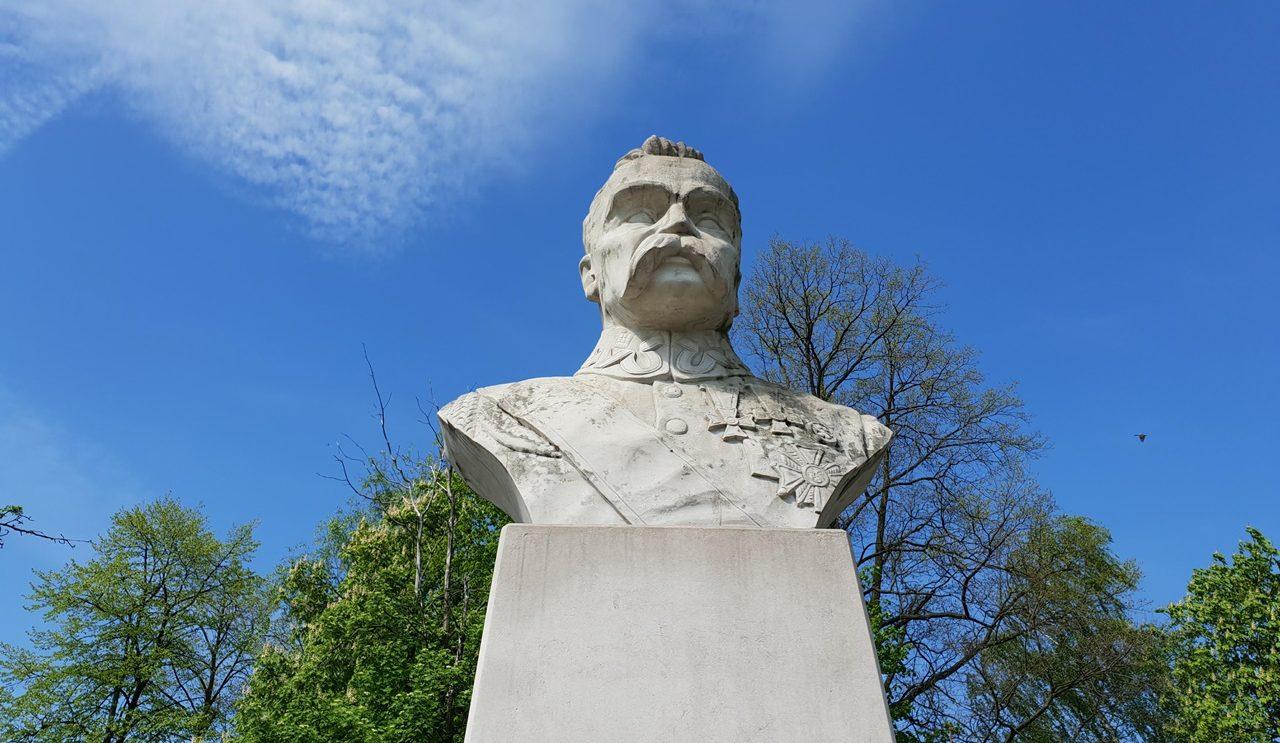 Pomnik marszałka Piłsudskiego będzie wyczyszony