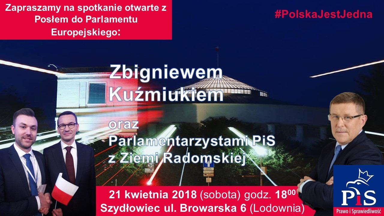 Parlamentarzyści Prawa i Sprawiedliwości odwiedzą Szydłowiec