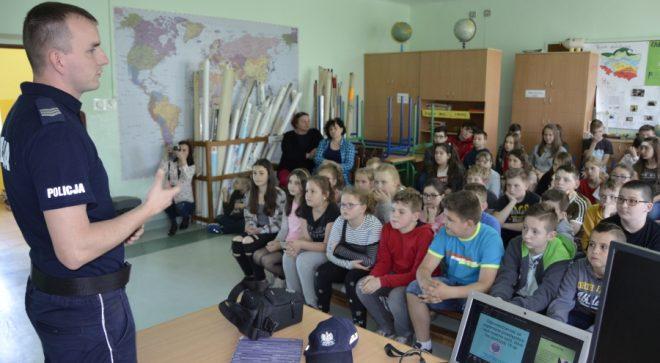 Spotkanie z dzielnicowym w Woli Lipienieckiej