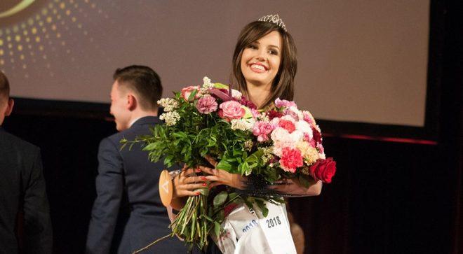 Aleksandra Nowacka w czołówce konkursu Miss Ziemi Radomskiej