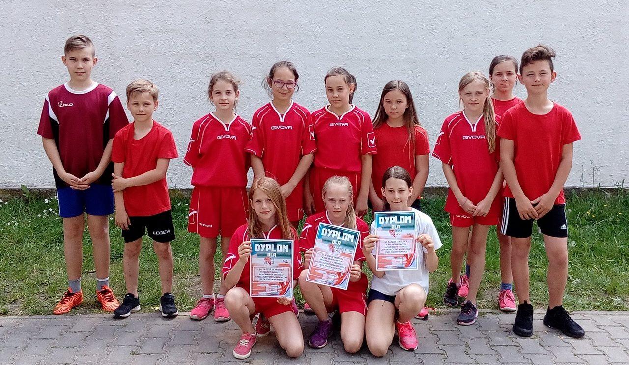 Sukces młodych lekkoatletów