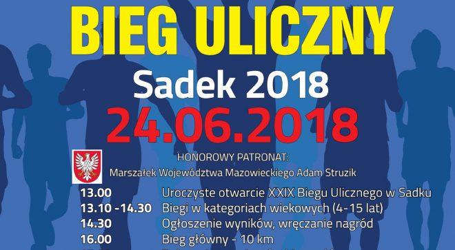 Zapraszamy na ogólnopolski bieg uliczny w Sadku!