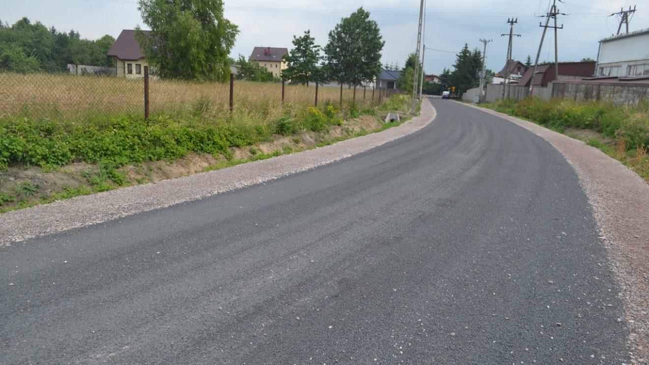 Przebudowa ulicy Wymysłów