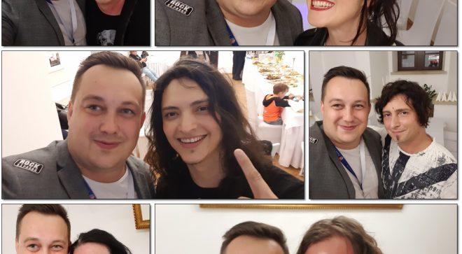 Rozmowy z gwiazdami koncertu Azyl P. & Przyjaciele