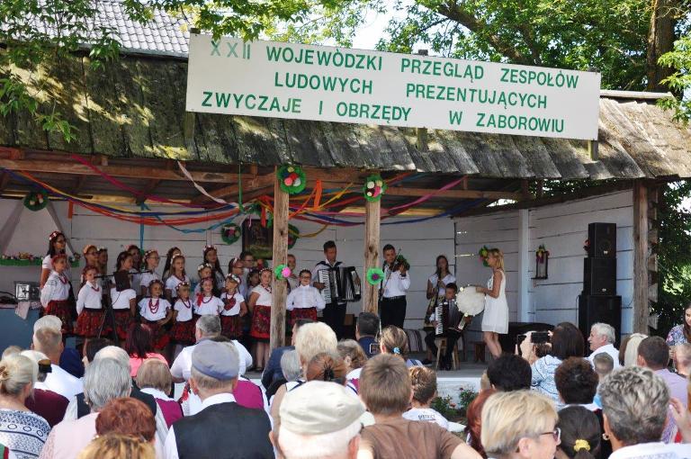 XXII Wojewódzki Przegląd Zespołów Ludowych w Zaborowiu