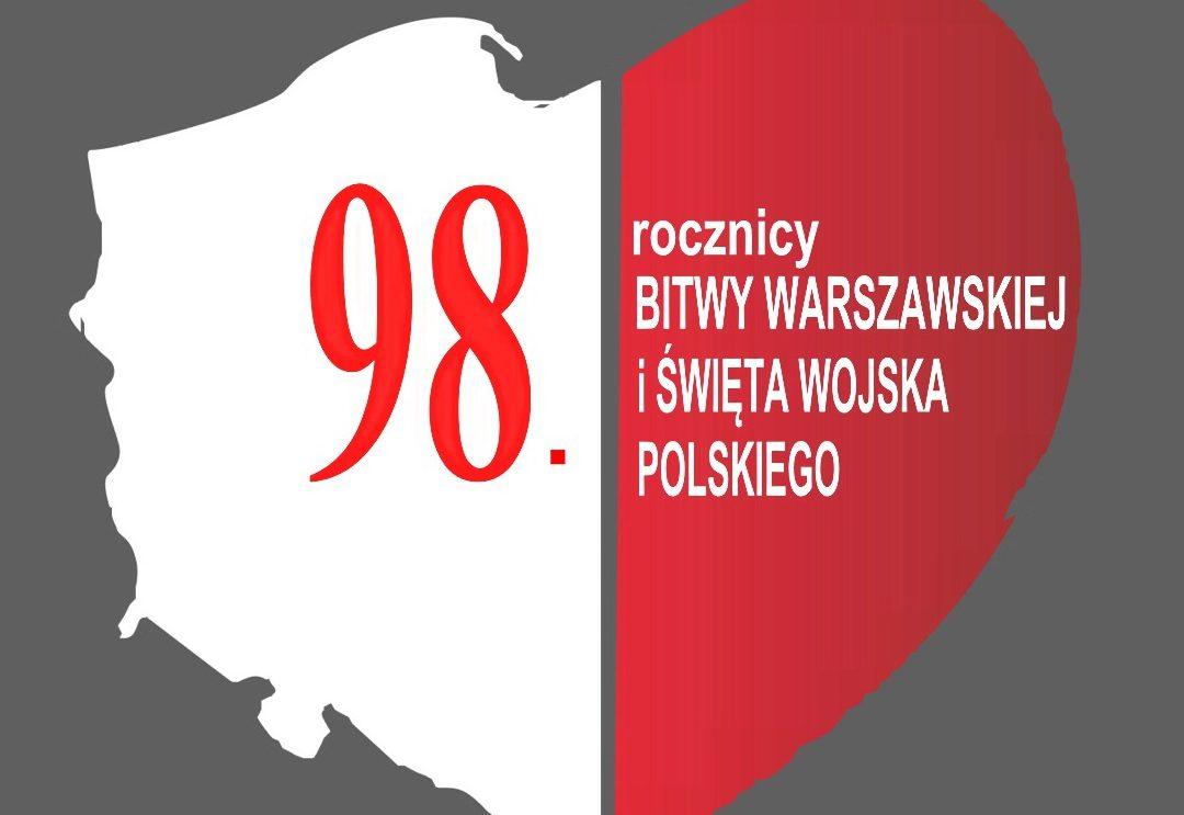 98. rocznica Bitwy Warszawskiej i Święto Wojska Polskiego