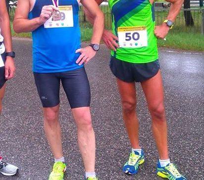 Trzech naszych biegaczy w czołówce biegu w Brodach
