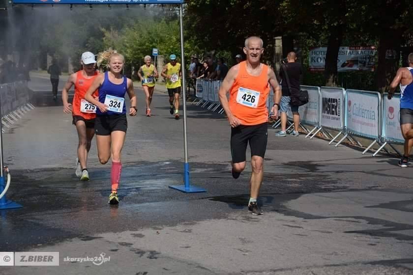 Dobry występ naszych biegaczy w Półmaratonie Wtórpol