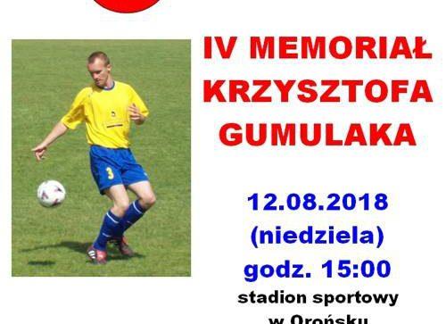 IV Memoriał Krzysztofa Gumulaka