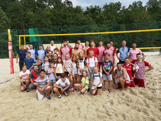 Szydłowiecka młodzież spotkała się z najlepszymi polskimi siatkarzami