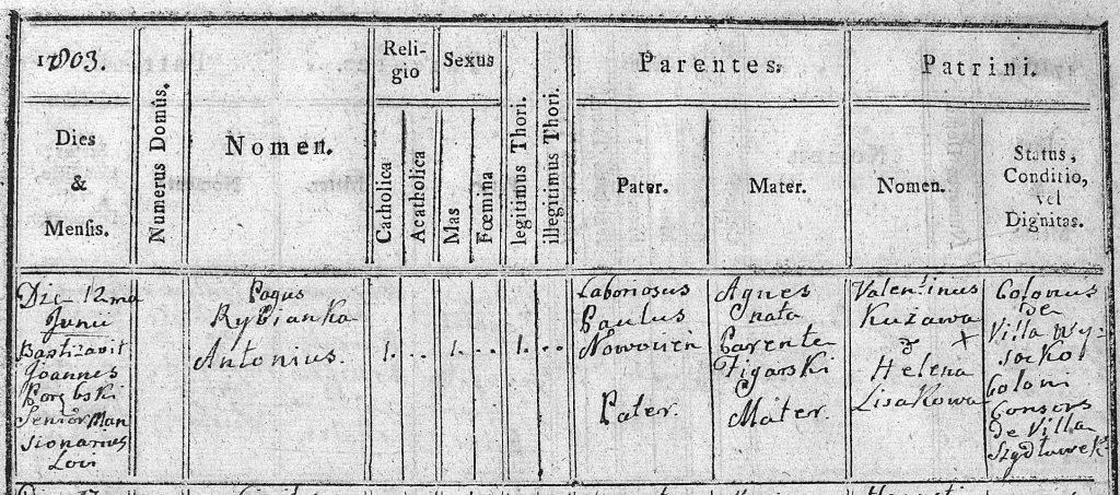Zasoby genealogiczne Szydłowca